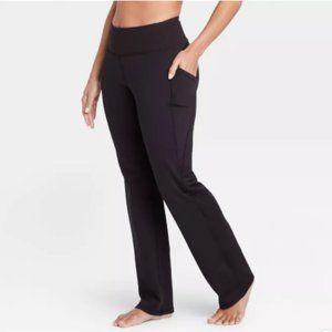 Women's Contour Curvy High-Waisted Straight Leg L